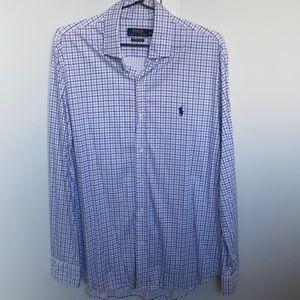 Men's polo Ralph Lauren button up dress shirt